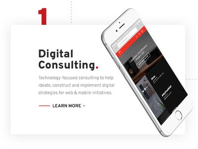 Digital Consulting CTA on Vordik.com