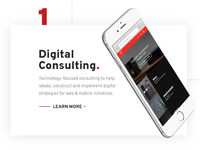 Digital Consulting CTA on Vordik.com