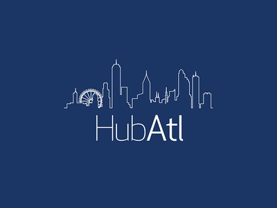 HubATL logo atlanta logo