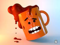 Mug with chocolate