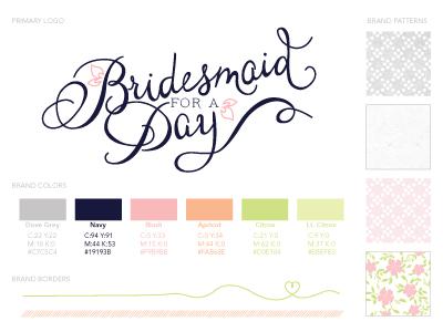 Helloimkim bridesmaidforaday branding