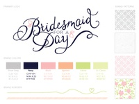 Bridesmaid For A Day Branding