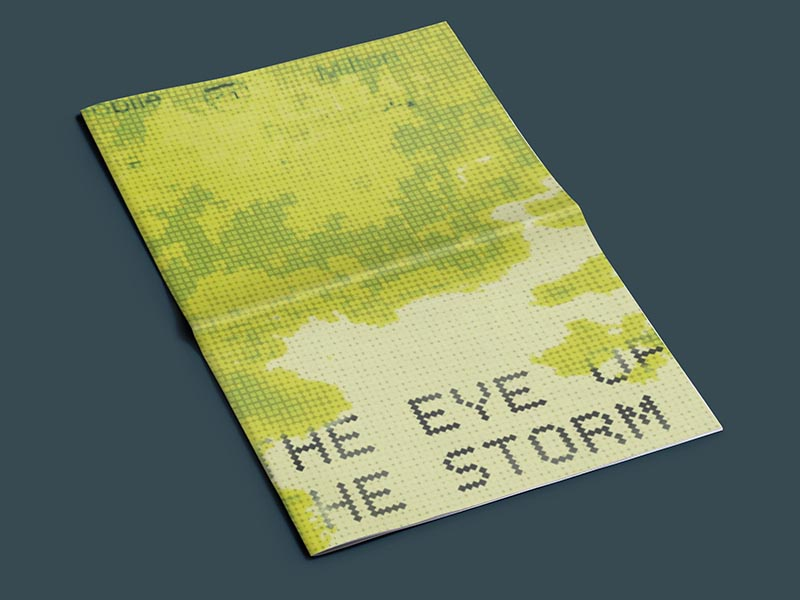 Eye of the Storm publication mental health layout newspaper