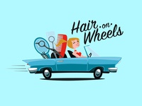 Hair On Wheels