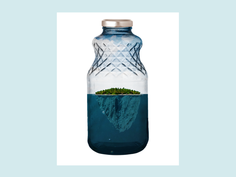 Island in a Bottle