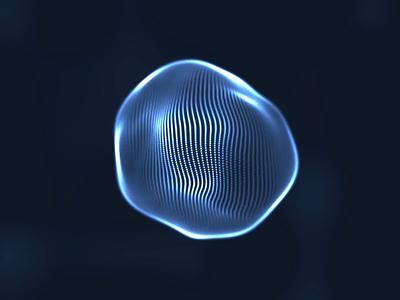 AI wave motion fractal liquid motion liquid wave