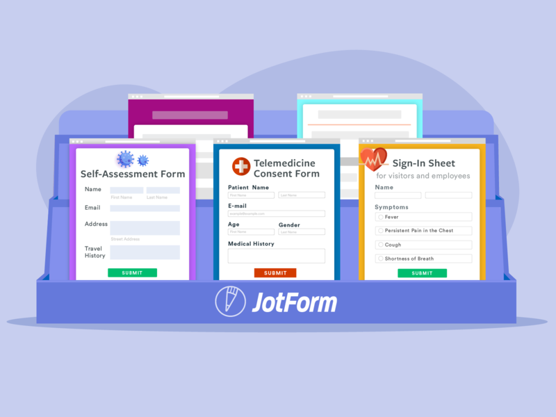 JotForm - 10 Form Templates to Tackle the Coronavirus