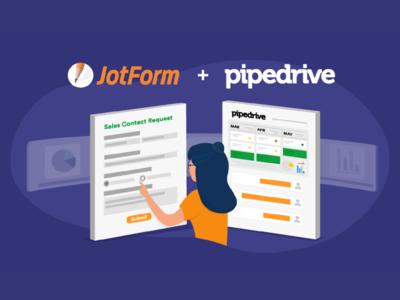 "JotForm - 2019 November Newsletter ""Pipedrive Integration Announ"
