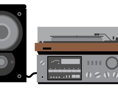 Vintage Stereo (WIP)