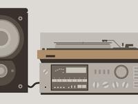 Vintage Stereo (WIP) - 2