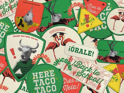 UNiCORN! - Taco Truck Branding