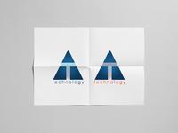 T technology Brand Identity