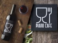 PIANO CAFE brand identity