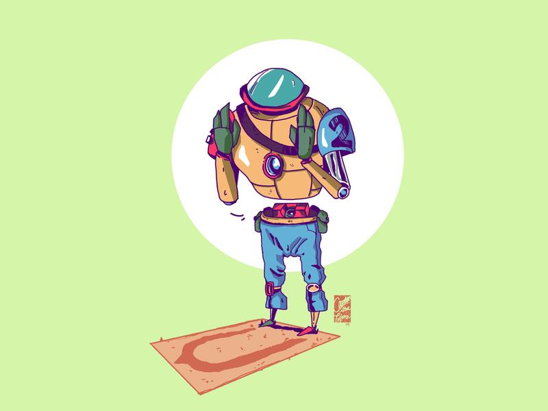 Get Started! sketchbook sketch machine art robot drawing design illustration