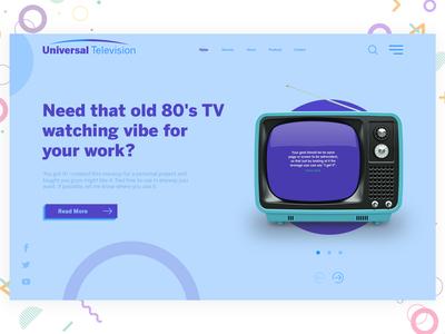 Creative television concept marketing