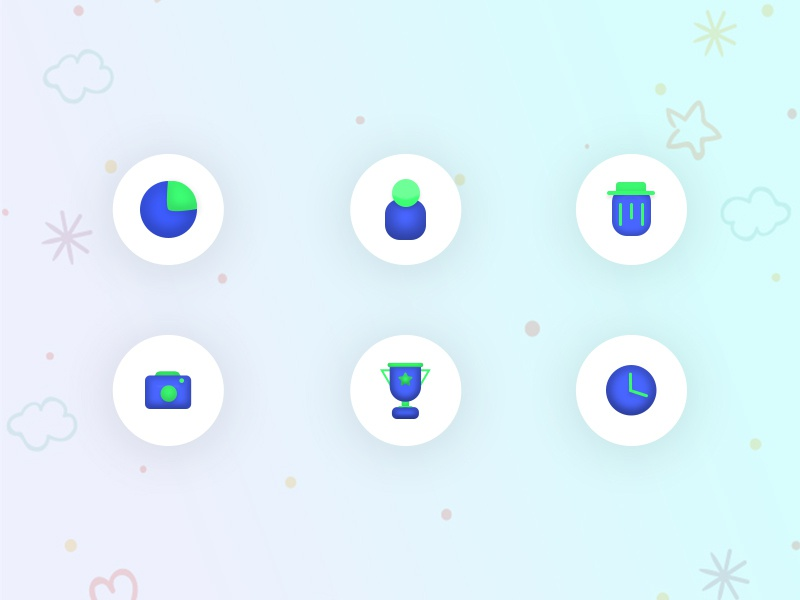 New styles Icons Design | Clean iconography creative hello dribble website illustrator clean 3d illustration dashboard mobile web ui app sandeep logo logo design logodesign minimal icons icon