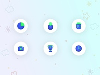 New styles Icons Design | Clean
