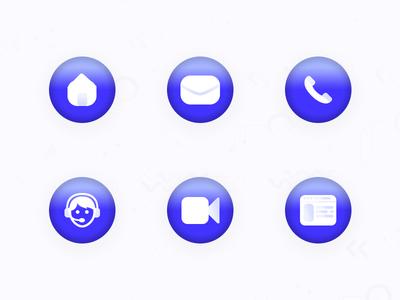 Simple & Clean Icons Design