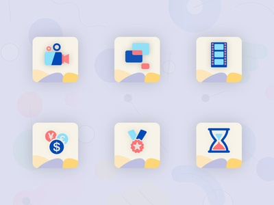 New Pattern Icons Concept