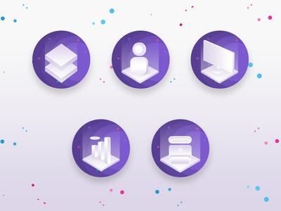 Isometric Illustration | Isometric Icons