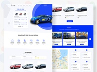 Rent Car Website