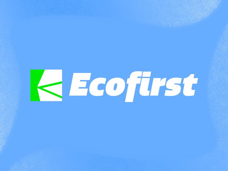 Ecofirst Logo icon illustrator sandeep web ui logo