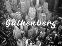 Guthenberg - Free Bold Calligraphy Script Font