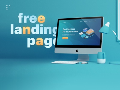 Free Business Service Landing Page Template