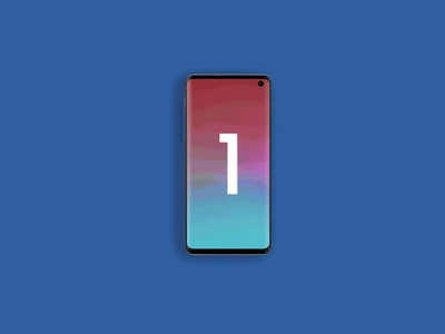Free Samsung Galaxy S10 Animated Mockup