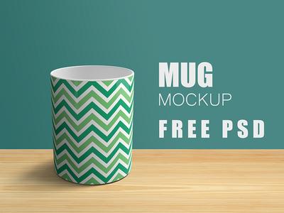 Free Elegant Mug Mockup