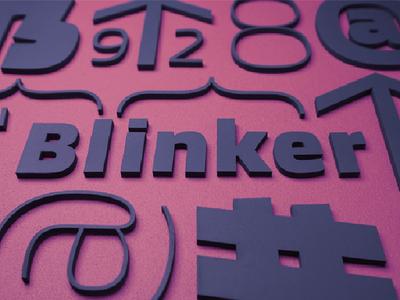 Blinker Free Font Family