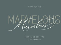 Marvelous Free Font Duo