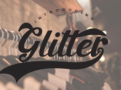 Glitter Free Font Download