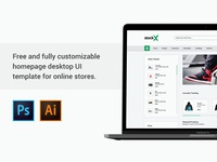 Free Visual Ecommerce UI kit