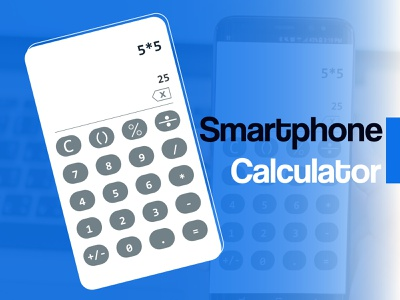 Calculator App Design uxdesign ui ux sketch vector inspiration illustration design
