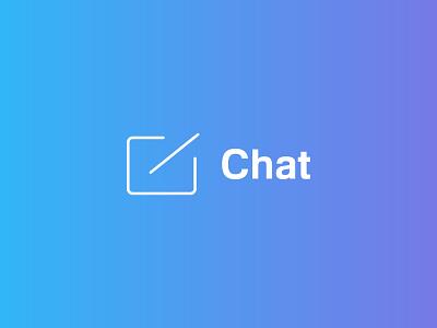 Chat Icon Design icon logo inspiration illustration branding graphic design ui