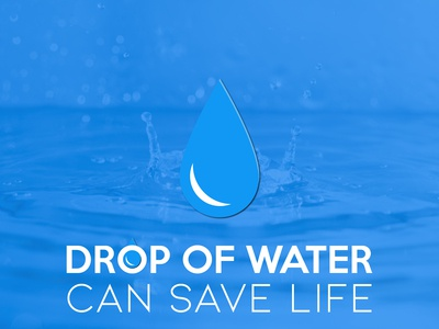 Drop of water!