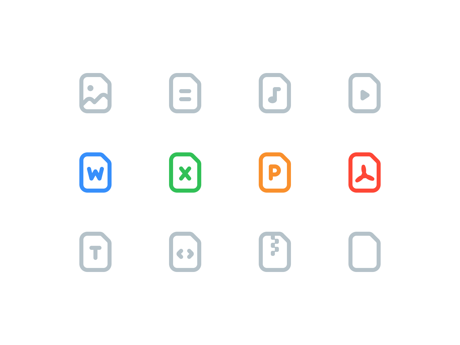 File icons 1