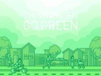 Think Green Go Green