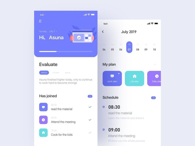 Billing notes -app design 应用 设计 ux ui