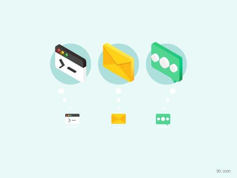 2D_icon icon design website app illustration icon design