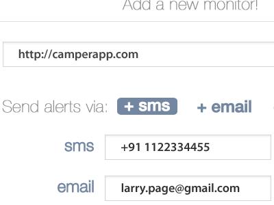 Site monitor app site monitor alerts