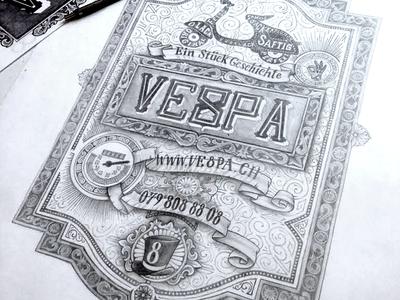 VE8PA type typo typography lettering hand lettering letters letter script handmade handtype