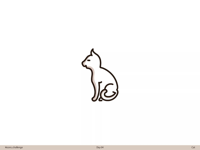 🐈 Cat | Day 04 | #icons_challenge icons-challenge