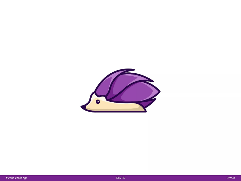 urchin   Day 06   #icons_challenge icons-challenge