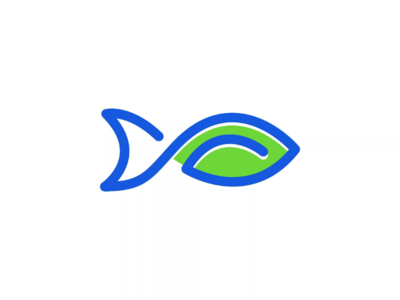 🐟🍃  Fish + Leaf Day 07  #icons_challenge icons-challenge  د