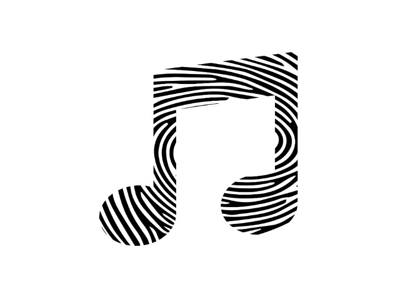 🎵👆  MUSIC + FINGERPRINT icons-challenge