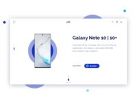 Landing page for handphone store