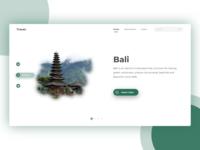 Travel Web App