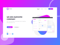 Awesome Company - Landing Page